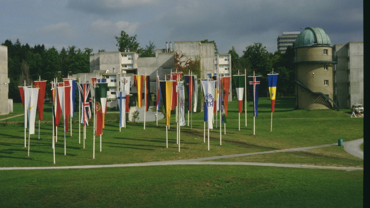 Unsere Sternwarte liegt mitten auf dem Campus Vaihigen